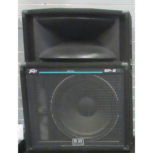 used peavey sp2 ti black unpowered speaker guitar center. Black Bedroom Furniture Sets. Home Design Ideas
