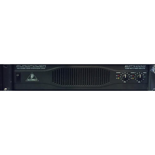Behringer SP4000 Power Amp