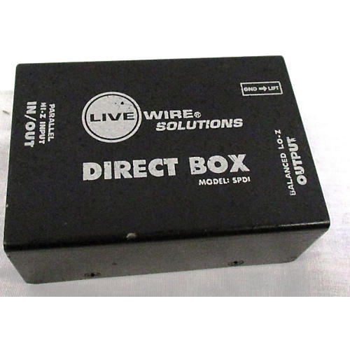 Live Wire Solutions SPDI Direct Box