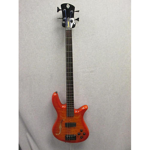 Spector SPECTORCORE Trans Amber Electric Bass Guitar