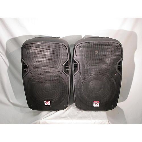 used rockville spgn128 pair unpowered speaker guitar center. Black Bedroom Furniture Sets. Home Design Ideas