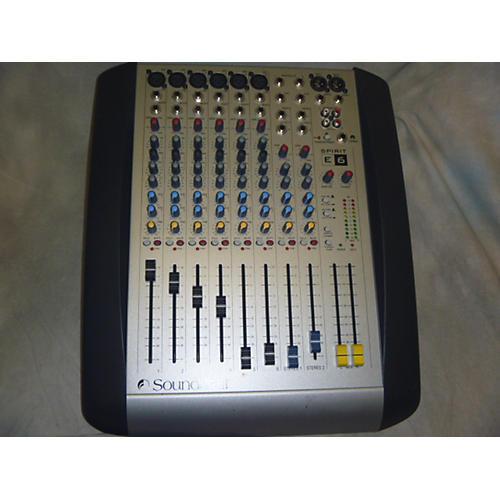 Soundcraft SPIRIT E6 Unpowered Mixer