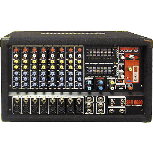 Nady SPM-8600 8-Channel Powered Mixer