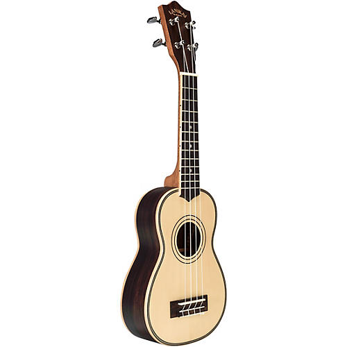 Lanikai SPST-S Solid Spruce Top Morado Back and Side Soprano Ukulele