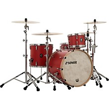 SQ1 3-Piece Shell Pack with 22 in. Bass Drum Hot Rod Red