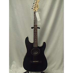 used fender squier stratacoustic acoustic electric guitar guitar center. Black Bedroom Furniture Sets. Home Design Ideas