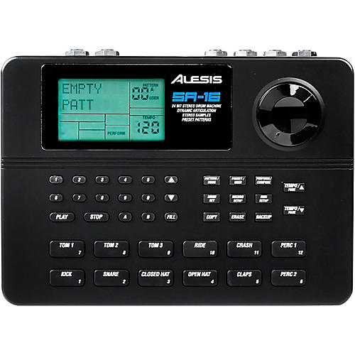 alesis sr 16 drum machine guitar center. Black Bedroom Furniture Sets. Home Design Ideas