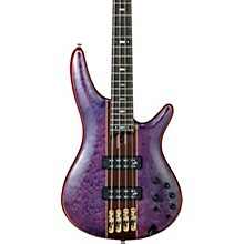 SR2400 Quilted Maple Top Bass Amethyst Purple Low Gloss