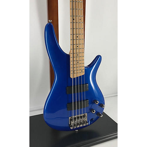 used ibanez sr305 5 string electric bass guitar metallic blue guitar center. Black Bedroom Furniture Sets. Home Design Ideas