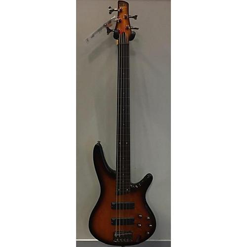 used ibanez sr375f 5 string electric bass guitar 2 tone sunburst guitar center. Black Bedroom Furniture Sets. Home Design Ideas
