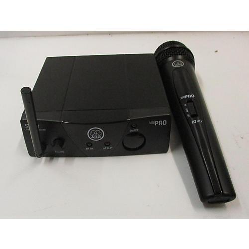 used akg sr40 pro mini handheld wireless system guitar center. Black Bedroom Furniture Sets. Home Design Ideas