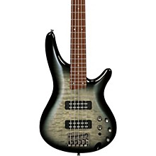 SR405EQM Quilted Maple 5-String Electric Bass Guitar Surreal Black Burst Gloss