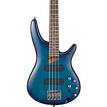Ibanez SR500 Soundgear 4-String Electric Bass Guitar Level 1 Flat Sapphire Blue