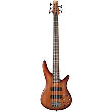 Ibanez SR505 5-String Electric Bass Guitar Level 1 Light Violin Sunburst