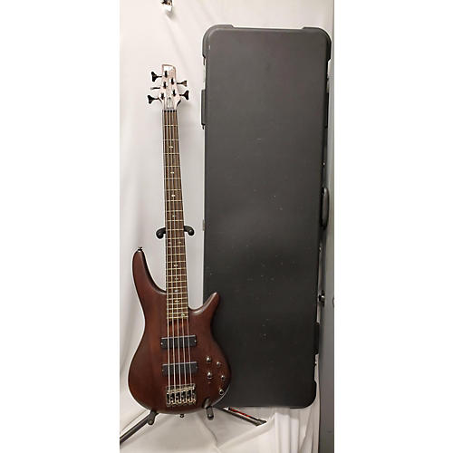 used ibanez sr505 5 string electric bass guitar mahogany guitar center. Black Bedroom Furniture Sets. Home Design Ideas