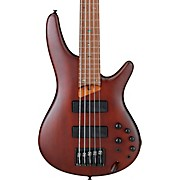 SR505EZW 5-String Electric Bass Guitar Flat Brown Burst