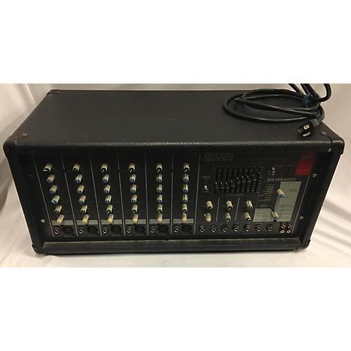 Fender SR6520PD Powered Mixer