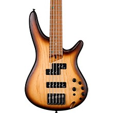 SR655E 5-String Electric Bass Flat Natural Browned Burst