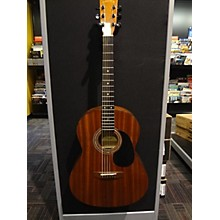 Zager SS Mahogany Acoustic Electric Guitar
