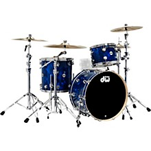SSC Collector's Series 3-Piece Finish Ply Shell Pack with Chrome Hardware Blue Moonstone