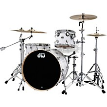 "DW SSC Collector's Series 4-Piece Finish Ply Shell Pack with 24"" Bass Drum and Chrome Hardware"