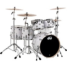 "DW SSC Collectors Series 5-Piece Finish Ply Shell Pack with 22"" Bass Drum and Chrome Hardware"