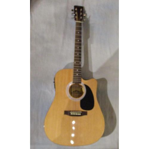 Stadium ST-01FL001CEQN Acoustic Electric Guitar