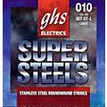 GHS ST-L Super Steels Roundwound Light Electric Guitar Strings thumbnail