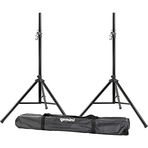 Gemini ST-Pack Speaker Stand Set With Carrying Case