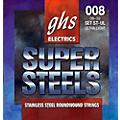 GHS ST-UL Super Steels Roundwound Ultra Light Electric Guitar Strings thumbnail