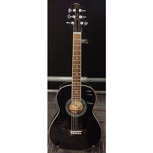 used greg bennett design by samick st6 1bk black acoustic guitar guitar center. Black Bedroom Furniture Sets. Home Design Ideas
