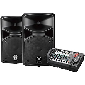 yamaha stagepas 400bt portable pa system with bluetooth guitar center. Black Bedroom Furniture Sets. Home Design Ideas