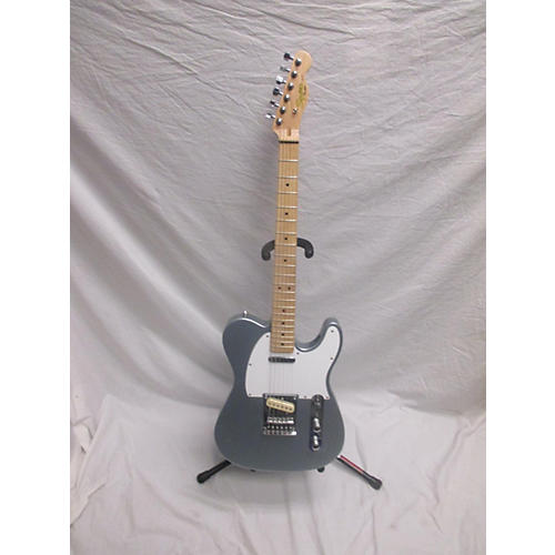 used squier standard tele 20th anniversary solid body electric guitar slick silver guitar center. Black Bedroom Furniture Sets. Home Design Ideas