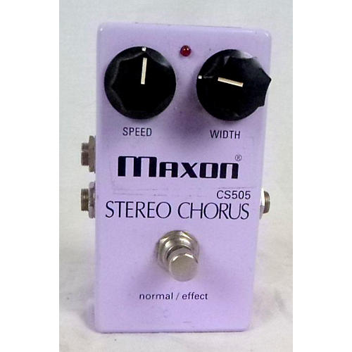 Maxon STEREO CHORUS CS505 Effect Pedal