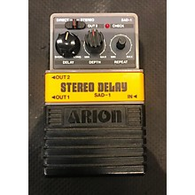 Arion STEREO DELAY SAD-1 Effect Pedal