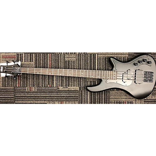 used schecter guitar research stiletto stealth 4 electric bass guitar black guitar center. Black Bedroom Furniture Sets. Home Design Ideas