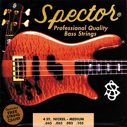 Spector STNI45-105 4-String Nickel Medium Bass Strings