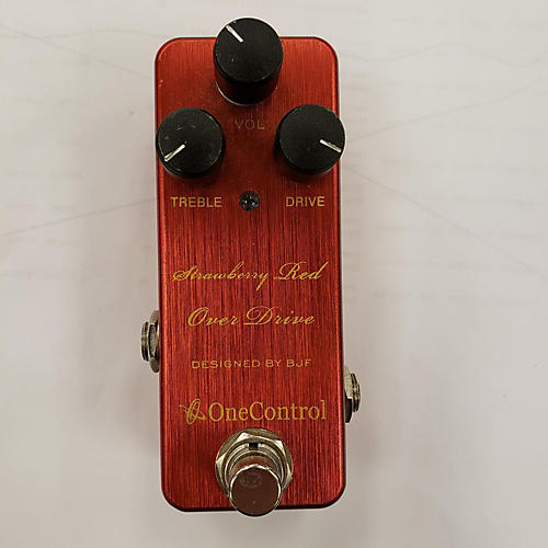 One Control STRAWBERRY RED Effect Pedal