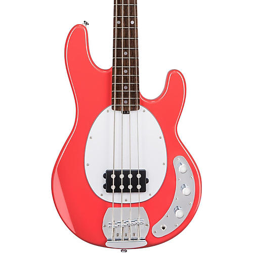 sterling by music man sub stingray 4 electric bass fiesta red guitar center. Black Bedroom Furniture Sets. Home Design Ideas