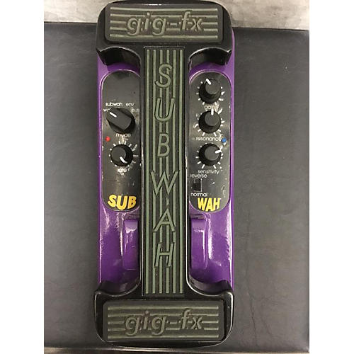 Gig-FX SUB WAH Bass Effect Pedal