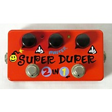 Zvex SUPER DUPER 2 IN 1 HAND PAINTED EDITION Effect Pedal
