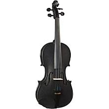 Cremona SV-130BK Series Sparkling Black Violin Outfit