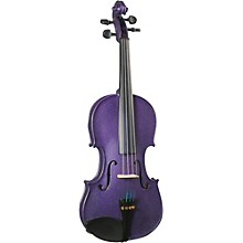 Cremona SV-130PP Series Sparkling Purple Violin Outfit