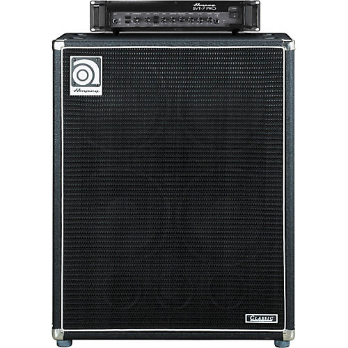 ampeg svt 7pro head and svt 410hlf cabinet bass stack guitar center. Black Bedroom Furniture Sets. Home Design Ideas