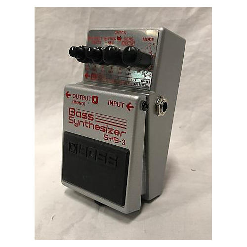 Boss SYB3 Bass Synth Bass Effect Pedal
