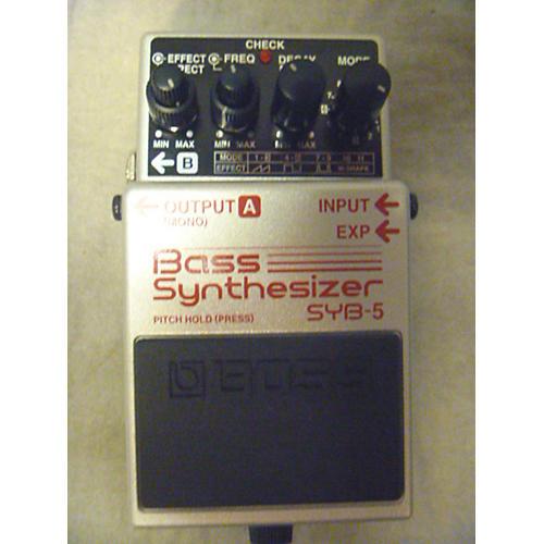 Boss SYB5 Bass Synth Bass Effect Pedal