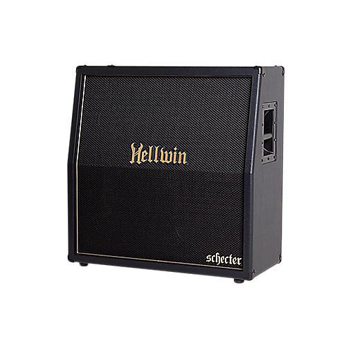 Schecter Guitar Research SYN412-SL Hellwin USA 4x12 Slant Guitar Speaker Cabinet