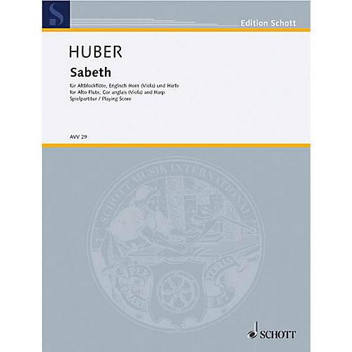 Schott Sabeth Schott Series by Klaus Huber