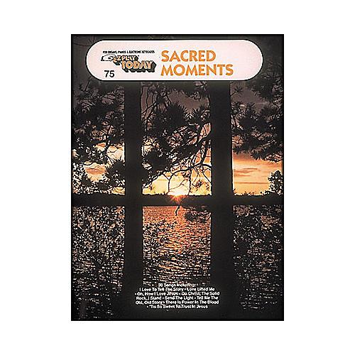 Hal Leonard Sacred Moments E-Z Play 75