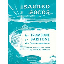 Rubank Publications Sacred Solos (Trombone (Baritone B.C.) Solo with Piano) Rubank Solo Collection Series